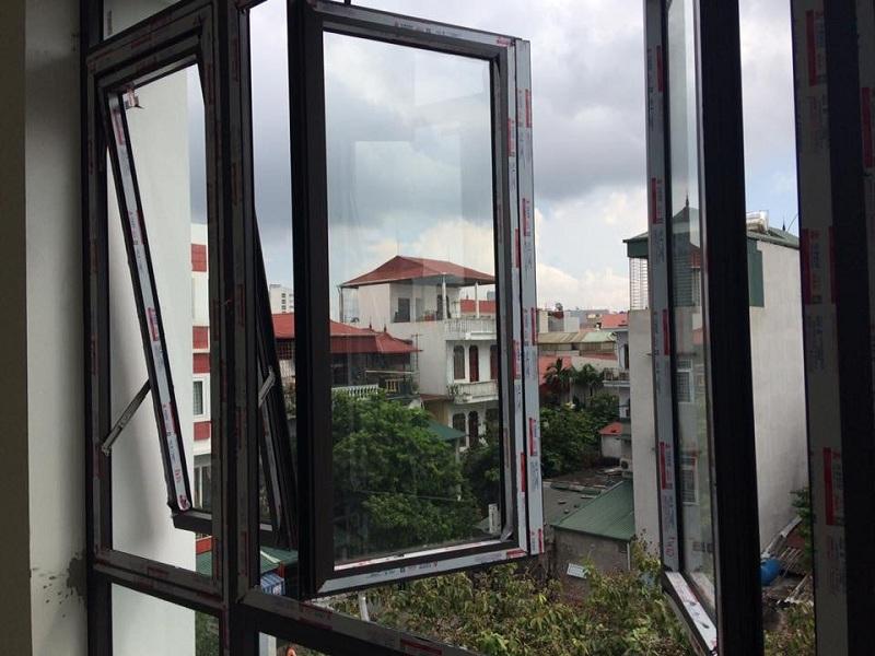 cửa sổ nhôm xingfa 4 cánh
