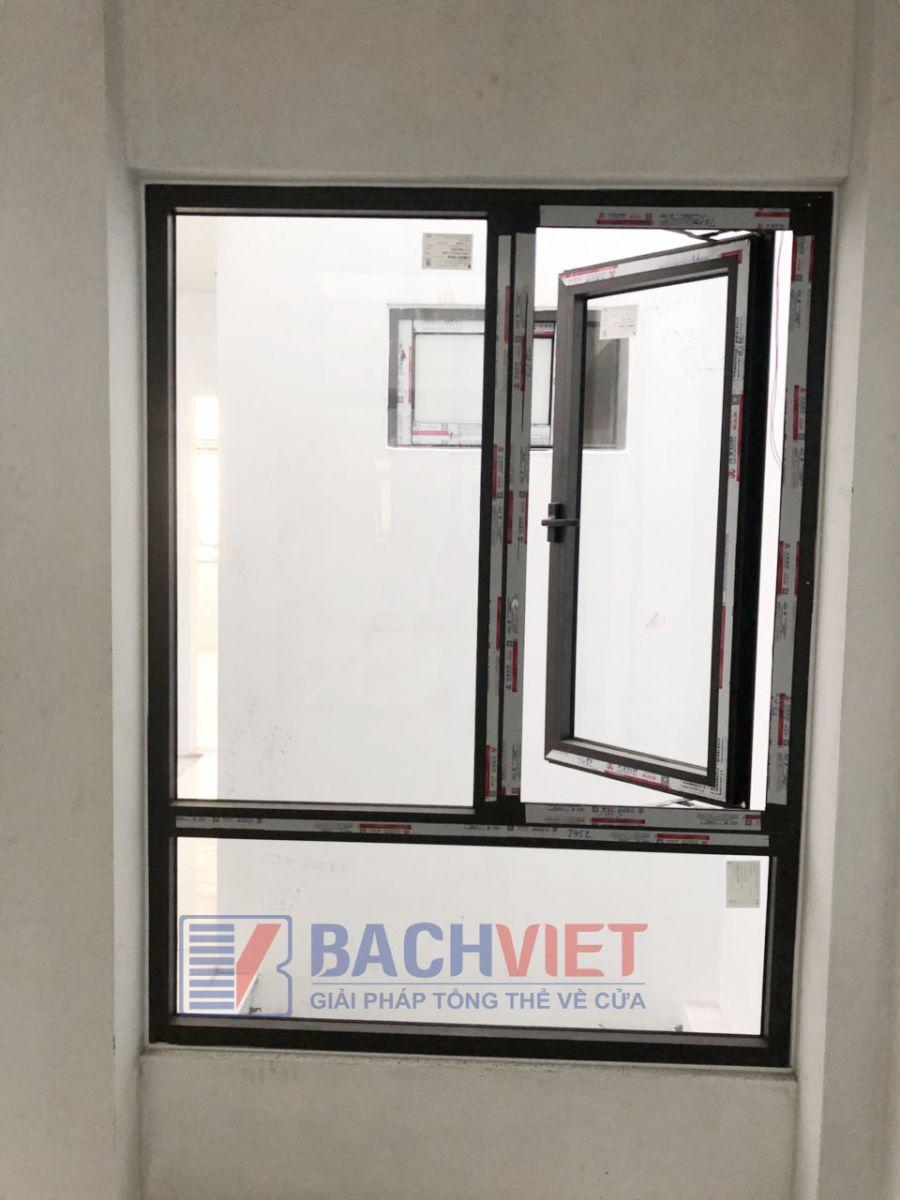 Công trình cửa sổ nhôm xingfa nhập khẩu chính hãng của khách hàng